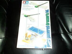 Very Old Rare Tamiya Solar Power Dragonfly Kit model New pre Genius Series
