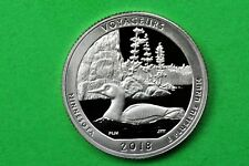 2018-S GEM Proof Deep Cameo(Voyageurs National Park) US Quarter (c/n clad)