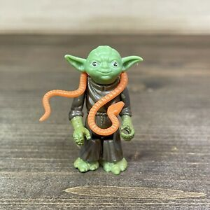 Vtg 1980 Kenner Star Wars LFL Yoda W/ Snake Action Figure