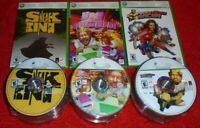 150 GAME LOT Xbox 360 Burger King games Big Bumpin Pocketbike Sneak King BULKNEW