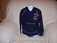 Boy's Faded Glory Long Sleeve Pullover Hoodie Sweatshirt Blue  Size XS 4-5