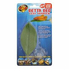 Zoo Med Betta Leaf Hammock Bed Ornament Decoration Decor Large 5 inch