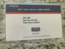 2017 USPS High Value Packet Sealed for the Year Book