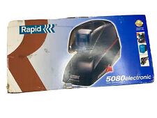 Rapid 73157 5050 Heavy-Duty Flat Clinch Electric Stapler- 50 Sheet Capacity- ...