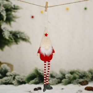 Forest Old Man Christmas Mini Doll Xmas Tree Pendant Decor Home New Year Gifts