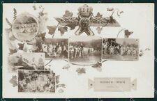 Varese Brenta Militari Valcuvia foto cartolina QK9815