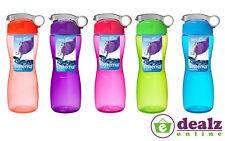 Sistema Hourglass Water Juice Drinks Bottle School Work Gym 645ml BPA Free