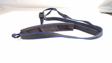 MINOLTA CAMERA NECK STRAP  BLUE AND BLACK COLOR PADDED