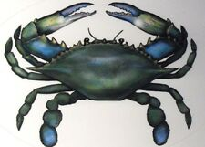 BLUE CRAB STICKER MARYLAND CRAB NEW 4x6 FOR BOAT CAR RV TRUCK BRIGHT COLORS !