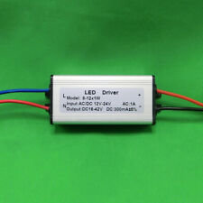 Waterproof Ac/Dc Led Driver 8~12x1W Power 12V~24V for Lamp Light Bulb 9W 10W 12W