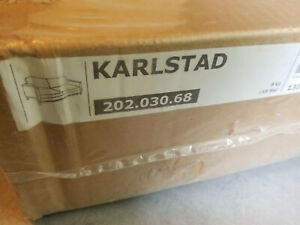 IKEA Covers for KARLSTAD Sofa Bed and Footstool LINDO BEIGE Slipcovers Lindö