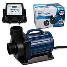 AquaForte DM Vario S 10000 22000 30000 regelbare Teich Filter Bachlauf Pumpe
