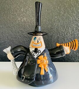 "Disney Direct Nightmare Before Christmas Mayor Halloween Town Teapot 10"" Ceramic"