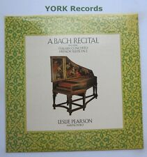 CFP 40049 - BACH - A Bach Recital LESLIE PEARSON - Excellent Condition LP Record