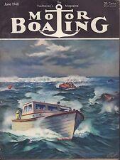 Motor Boating June 1948 Man Made Lakes, Aquaplane 032417nonDBE