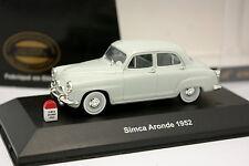 Nostalgie CEC 1/43 - Simca Aronde 1954 Gris claro