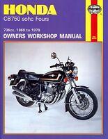1969-1979 Honda CB750 CB 750 K F Four HAYNES REPAIR MANUAL