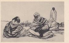 C1036) COLONIALI, LIBIA, SOSTA DI UNA CAROVANA DI ROMANO DAZZI. FIERA DI TRIPOLI