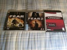 New ListingFear F.E.A.R. 1, 2 3 : Project Origin & Playstation 3 Ps3 Complete Trilogy Lot