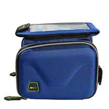 Gepäckträgertasche in Blau für Fahrräder