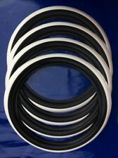 Classic tire 13 inch white wall port a wall white line,stripe set of4 Hot Rod