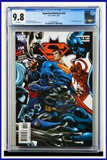 Superman Batman #34 CGC Graded 9.8 DC May 2007 White Pages Comic Book