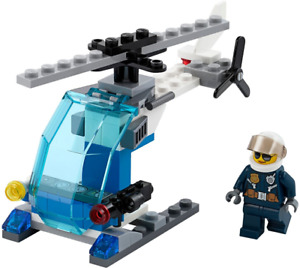 RARE Lego City Police Helicopter Kit 30351 (Ages 5-12) 44 Pieces FACTORY SEALED