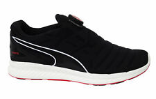 Puma Ignite Disc White Blast Black Red Slip On Low Running Shoes Trainers Mens