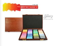 Soft Oil Pastel Mungyo Gallery Premium 72 Colors Wood Artist Drawing MOPV-72W