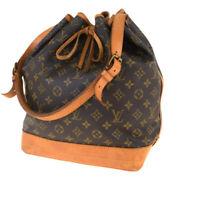Auth Louis Vuitton Monogram Noe M42224 Shoulder Bag Monogram 34GA701