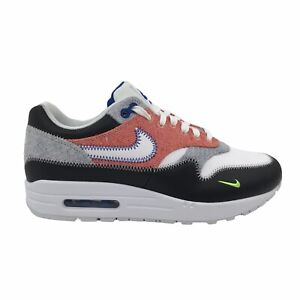 Nike Air Max 1 Mens Shoes Size US 7.5 UK 6.5 | White Game Royal Black Sneakers