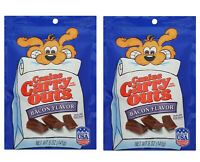 2 X Canine Carry Outs Dog Treats Real BACON Flavor Made in USA 5oz each NEW