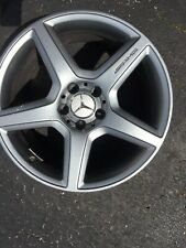 New ListingMercedes E-Class 2008-2009 Amg Oem Rear Wheel 18�X9� A2114016702 Metallic silver