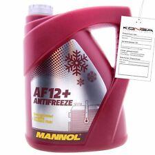 5 L MANNOL 4112 Longlife Antifreeze AF12+ Kühlerfrostschutz Konzentrat G12+ VAG