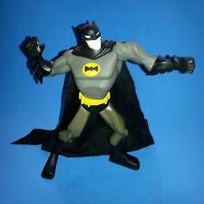 "DC Comics Animated BATMAN 9"" Action Figure 8 Points of Articulation Cloth Cape"