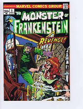 Monster of Frankenstein #3 Marvel 1973