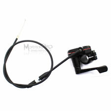 Thumb Throttle Accelerator + Cable 49cc 50cc 110cc 125cc ATV Quad Bike Buggy AU