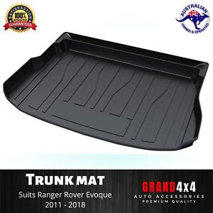 Heavy Duty Cargo Rubber Boot Liner Mat for Land Range Rover Evoque 2011 - 2018