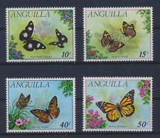 Anguilla 123/26 postfrisch / Schmetterlinge (6409) .............................