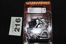 Games Workshop WARHAMMER CONTI VAMPIRO negromante Piede & montato non morti in metallo
