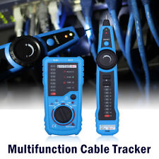 Cable Tester Wire Tracker Network Telephone Line Tracer Toner Lan Phone RJ11/45