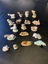 Lot Of 18 Wade England Red Rose Tea Figurines