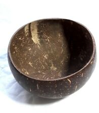 SQUARE DIPPING BOWL / DISH THAI HANDCRAFT COCONUT  WOODEN SIZE 5""