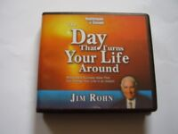 The Day That Turns Your Life Around: Jim Rohn - Audiobook - 6CDS