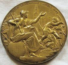 MED6507 - MEDAILLE EXPOSITION UNIVERSELLE D'ANVERS 1885 BELGIQUE