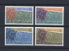 1959 South Vietnam Stamps Volunteer Road Workers Sc # 120- 23 MNH