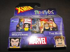 WOLVERINE STRIKE FORCE and the BLOB X-MEN MARVEL MINIMATES NEW FACTORY SEALED