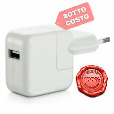 CARICA BATTERIE per APPLE IPAD IPHONE 6 RETINA ALIMENTATORE 12w 12 WATT