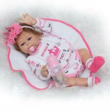 "20"" Reborn Twins Doll  Lifelike Anatomically Correct Baby Toys Boy or Girl Doll"