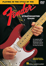Playing in Style Of The Fender Stratocaster Greats Learn to Rock Music DVD